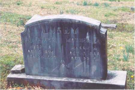 LUSBY, HARRY - Yell County, Arkansas | HARRY LUSBY - Arkansas Gravestone Photos