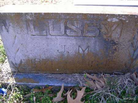 LUSBY, J. M. - Yell County, Arkansas | J. M. LUSBY - Arkansas Gravestone Photos