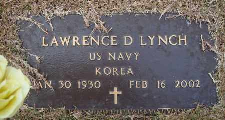 LYNCH (VETERAN KOR), LAWRENCE D - Yell County, Arkansas | LAWRENCE D LYNCH (VETERAN KOR) - Arkansas Gravestone Photos
