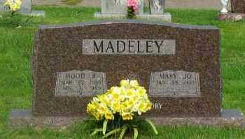 MADELEY, HOOD B - Yell County, Arkansas | HOOD B MADELEY - Arkansas Gravestone Photos