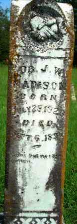 MADISON, J. W. - Yell County, Arkansas | J. W. MADISON - Arkansas Gravestone Photos