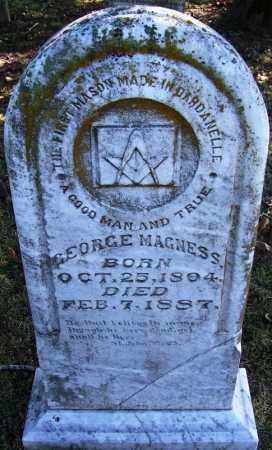 MAGNESS, GEORGE - Yell County, Arkansas | GEORGE MAGNESS - Arkansas Gravestone Photos