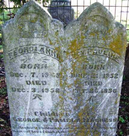 MAGNESS, LUCY PAULINE - Yell County, Arkansas | LUCY PAULINE MAGNESS - Arkansas Gravestone Photos