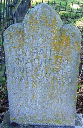 MAGNESS, SARAH C - Yell County, Arkansas | SARAH C MAGNESS - Arkansas Gravestone Photos