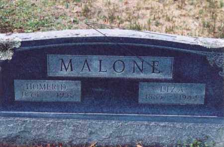 MALONE, HOMER D. - Yell County, Arkansas | HOMER D. MALONE - Arkansas Gravestone Photos
