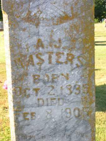 MASTERS, ANDREW JACKSON - Yell County, Arkansas | ANDREW JACKSON MASTERS - Arkansas Gravestone Photos