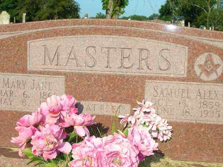 MASTERS, SAMUEL ALEX - Yell County, Arkansas | SAMUEL ALEX MASTERS - Arkansas Gravestone Photos