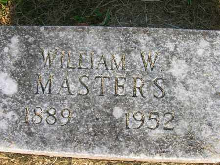 MASTERS, WILLIAM WALLACE - Yell County, Arkansas | WILLIAM WALLACE MASTERS - Arkansas Gravestone Photos