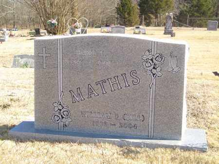 MATHIS, WILLIAM P. (BILL) - Yell County, Arkansas | WILLIAM P. (BILL) MATHIS - Arkansas Gravestone Photos