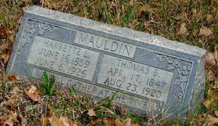 MAULDIN, THOMAS BENTON - Yell County, Arkansas | THOMAS BENTON MAULDIN - Arkansas Gravestone Photos
