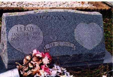 MCCONNELL, LEROY - Yell County, Arkansas   LEROY MCCONNELL - Arkansas Gravestone Photos