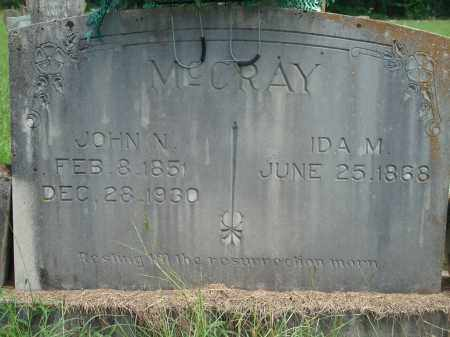 MCCRAY, IDA M - Yell County, Arkansas | IDA M MCCRAY - Arkansas Gravestone Photos