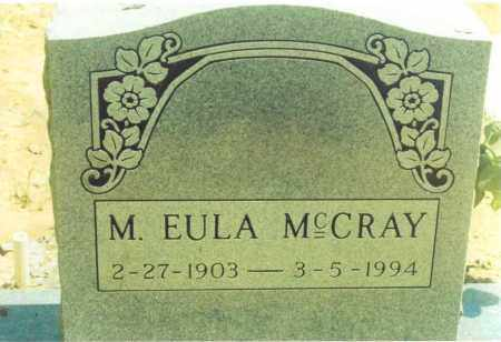 MCCRAY, M. EULA - Yell County, Arkansas | M. EULA MCCRAY - Arkansas Gravestone Photos