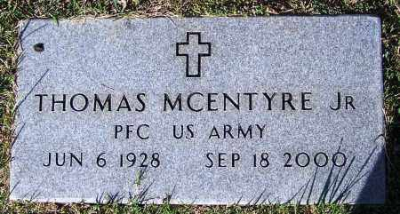 MCENTYRE, JR. (VETERAN), THOMAS - Yell County, Arkansas | THOMAS MCENTYRE, JR. (VETERAN) - Arkansas Gravestone Photos