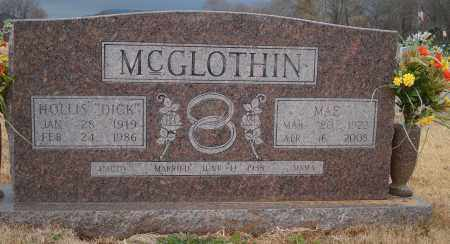 MCGLOTHIN, MAE - Yell County, Arkansas | MAE MCGLOTHIN - Arkansas Gravestone Photos