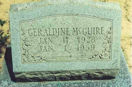 MCGUIRE, GERALDINE - Yell County, Arkansas | GERALDINE MCGUIRE - Arkansas Gravestone Photos