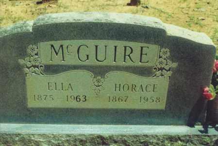 MCGUIRE, JOHN HORACE - Yell County, Arkansas | JOHN HORACE MCGUIRE - Arkansas Gravestone Photos