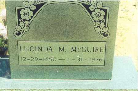 MCGUIRE, LUCINDA M. - Yell County, Arkansas | LUCINDA M. MCGUIRE - Arkansas Gravestone Photos