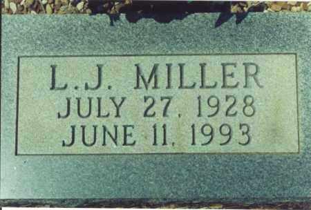 MILLER, L. J. - Yell County, Arkansas | L. J. MILLER - Arkansas Gravestone Photos