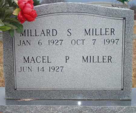 MILLER, MILLARD S. - Yell County, Arkansas   MILLARD S. MILLER - Arkansas Gravestone Photos