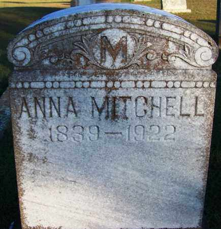 MITCHELL, ANNA - Yell County, Arkansas | ANNA MITCHELL - Arkansas Gravestone Photos