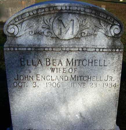 MITCHELL, ELLA BEA - Yell County, Arkansas   ELLA BEA MITCHELL - Arkansas Gravestone Photos