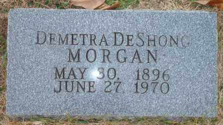 MORGAN, DEMETRA DESHONG - Yell County, Arkansas | DEMETRA DESHONG MORGAN - Arkansas Gravestone Photos