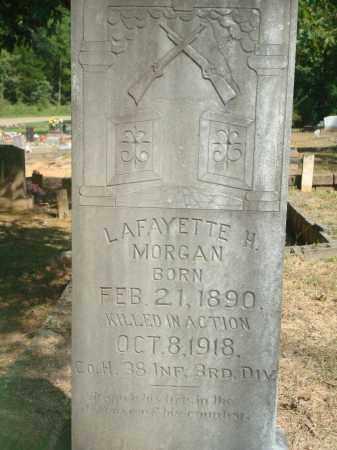 MORGAN (VETERAN WWI, KIA), LAFAYETTE H - Yell County, Arkansas   LAFAYETTE H MORGAN (VETERAN WWI, KIA) - Arkansas Gravestone Photos