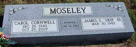 CORNWELL MOSELEY, CAROL - Yell County, Arkansas | CAROL CORNWELL MOSELEY - Arkansas Gravestone Photos