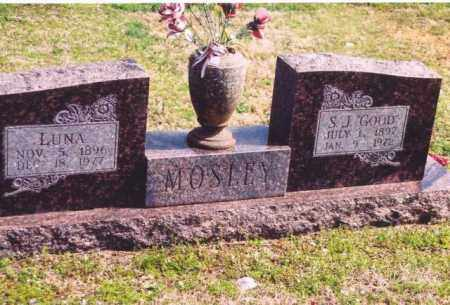 MOSELY, LUNA MAE - Yell County, Arkansas | LUNA MAE MOSELY - Arkansas Gravestone Photos