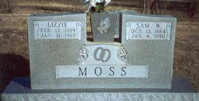 WILLIAMS MOSS, LIZZIE - Yell County, Arkansas | LIZZIE WILLIAMS MOSS - Arkansas Gravestone Photos