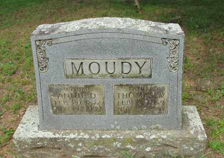 MOUDY, ANNIE D - Yell County, Arkansas | ANNIE D MOUDY - Arkansas Gravestone Photos