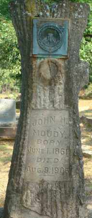 MOUDY, JOHN H. - Yell County, Arkansas | JOHN H. MOUDY - Arkansas Gravestone Photos