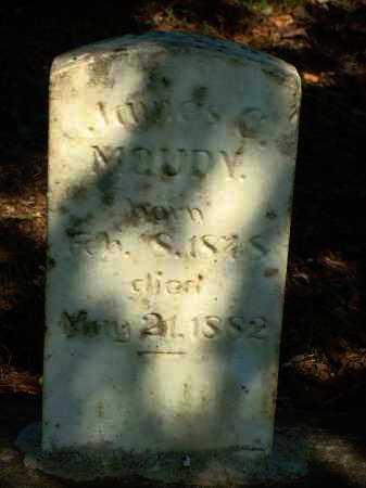 MOUDY, JAMES C. - Yell County, Arkansas | JAMES C. MOUDY - Arkansas Gravestone Photos