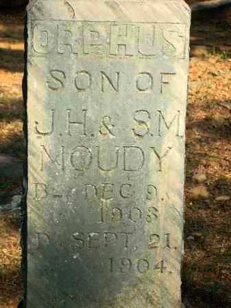 MOUDY, ORPHUS - Yell County, Arkansas | ORPHUS MOUDY - Arkansas Gravestone Photos