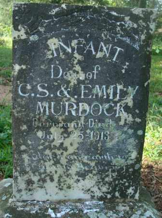 MURDOCK, INFANT DAUGHTER - Yell County, Arkansas | INFANT DAUGHTER MURDOCK - Arkansas Gravestone Photos