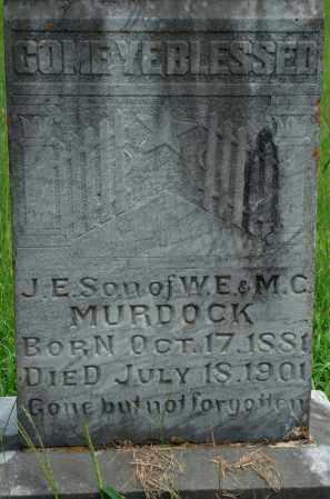 MURDOCK, J. E. - Yell County, Arkansas | J. E. MURDOCK - Arkansas Gravestone Photos