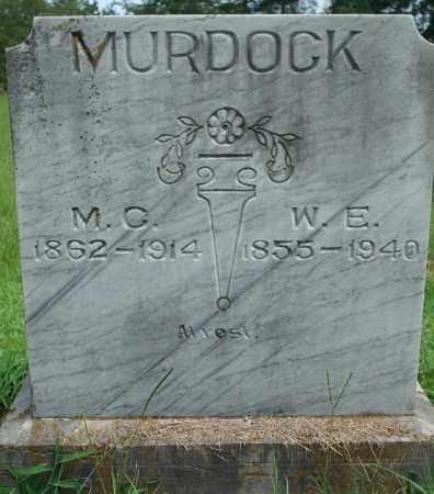 MURDOCK, W. E. - Yell County, Arkansas | W. E. MURDOCK - Arkansas Gravestone Photos