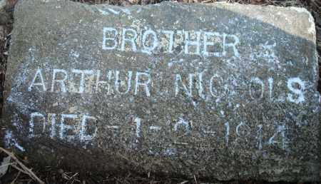 NICHOLS, ARTHUR - Yell County, Arkansas   ARTHUR NICHOLS - Arkansas Gravestone Photos