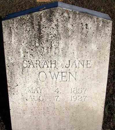 OWEN, SARAH JANE - Yell County, Arkansas | SARAH JANE OWEN - Arkansas Gravestone Photos