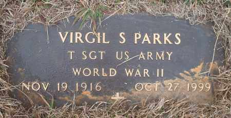 PARKS (VETERAN WWII), VIRGIL S. - Yell County, Arkansas | VIRGIL S. PARKS (VETERAN WWII) - Arkansas Gravestone Photos