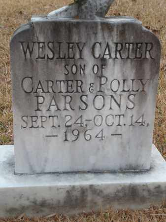 PARSONS, WESLEY CARTER - Yell County, Arkansas | WESLEY CARTER PARSONS - Arkansas Gravestone Photos