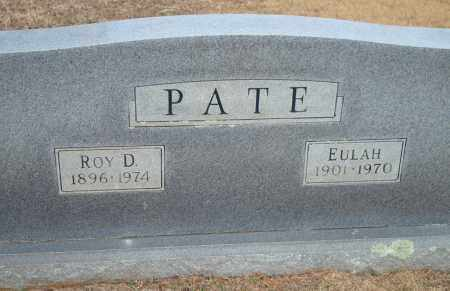 PATE, EULAH - Yell County, Arkansas | EULAH PATE - Arkansas Gravestone Photos