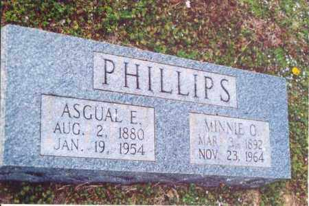 PHILLIPS, ASGUAL E. - Yell County, Arkansas | ASGUAL E. PHILLIPS - Arkansas Gravestone Photos