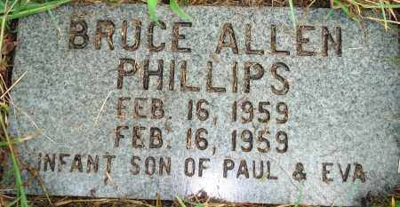 PHILLIPS, BRUCE ALLEN - Yell County, Arkansas | BRUCE ALLEN PHILLIPS - Arkansas Gravestone Photos