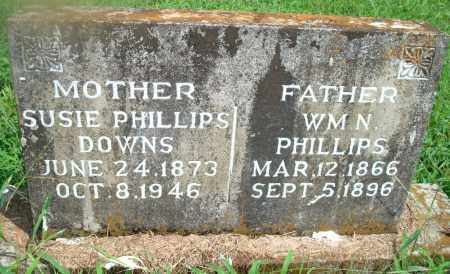 PHILLIPS DOWNS, SUSIE - Yell County, Arkansas | SUSIE PHILLIPS DOWNS - Arkansas Gravestone Photos
