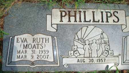 MOATS PHILLIPS, EVA RUTH - Yell County, Arkansas | EVA RUTH MOATS PHILLIPS - Arkansas Gravestone Photos