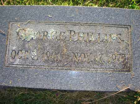 PHILLIPS, GEORGE - Yell County, Arkansas | GEORGE PHILLIPS - Arkansas Gravestone Photos