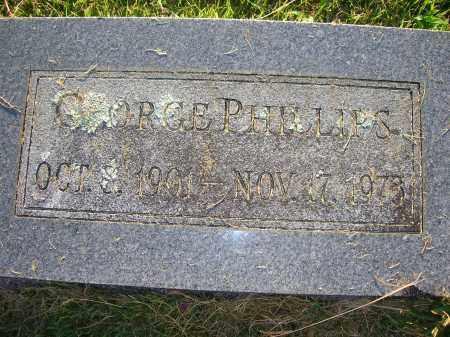 PHILLIPS, GEORGE - Yell County, Arkansas   GEORGE PHILLIPS - Arkansas Gravestone Photos
