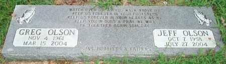 OLSON, JEFF - Yell County, Arkansas | JEFF OLSON - Arkansas Gravestone Photos